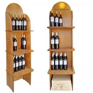 Expositor tiendas de Vinos y Gourmet para 54 Botellas|CB4775
