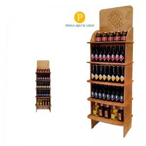 Expositor vinos y licores 60-90 botellas personalizable|CA6577