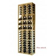 Botellero Expositor profesional 102 botellas y Marcas de vino| EX2090