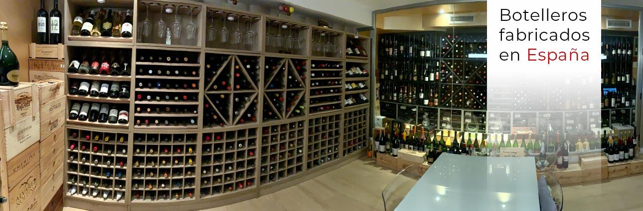 Comprar un botellero, vinoteca o mueble para vinos  → ZonaWine.com